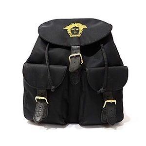 Authentic Vintage Versace Medusa Backpack